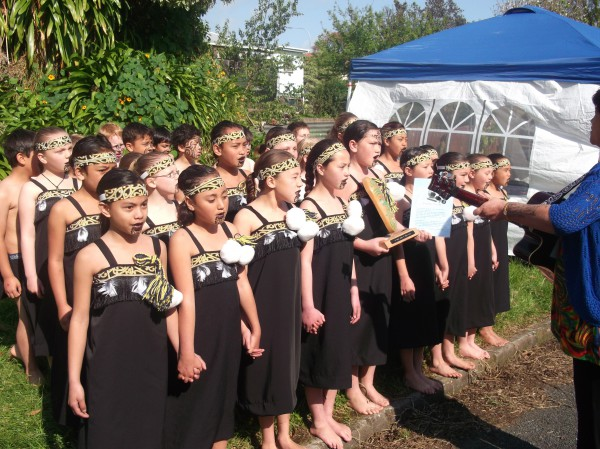 Kapa Haka Group May 2011