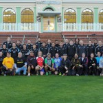 Mr Luff with the All Blacks